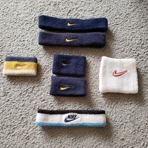 Nike arm and head bands